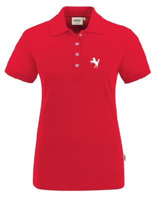 Präsentations-Poloshirt Damen, rot