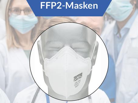 FFP2 Schutzmasken - sofort lieferbar!