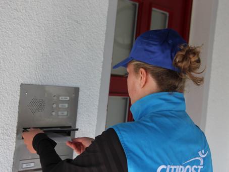 Case Study: Mit einer Weltenbummlerin durch Bielefeld - Auf Postzustelltour mit der Citipost!