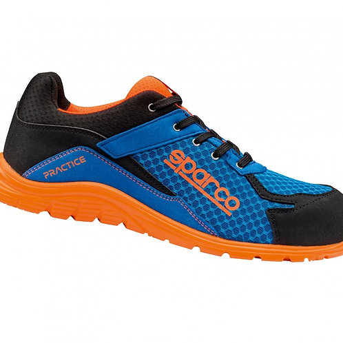 Sparco Practice blue/Orange  S1P