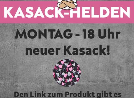 Kasack-Helden - neues Modell am Montag