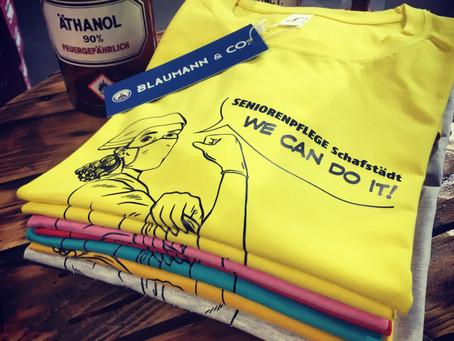 Helden-Shirts für Pflege und Medizin