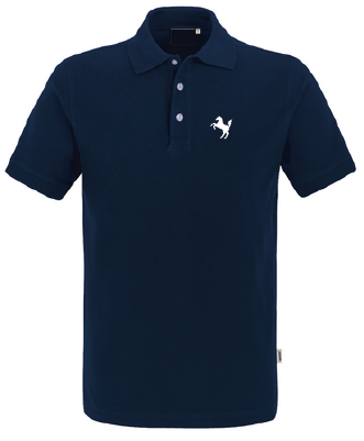 Team-Poloshirt Herren, navy