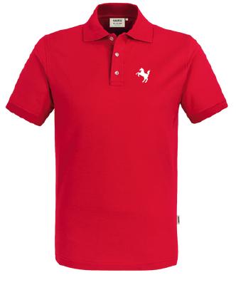 Präsentations-Poloshirt Herren, rot