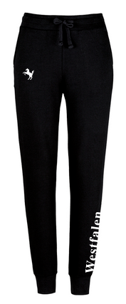Jogginghose Damen, schwarz