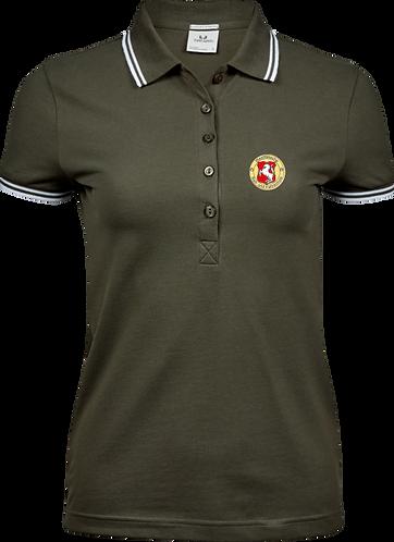 Poloshirt Damen, olive