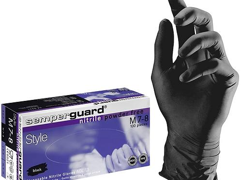 Einweg-Handschuh, Nitril, schwarz, 100er Pack