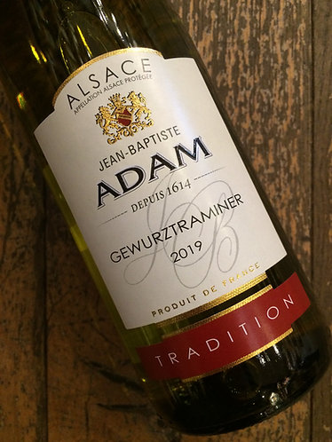 JB Adam Gewurztraminer Tradition - half bottle