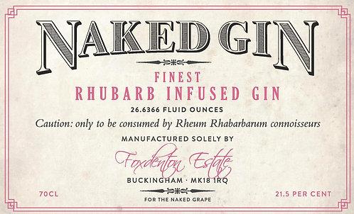 Naked Gin Rhubarb