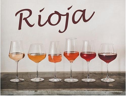 Rediscover Rioja - Virtual Wine Tasting
