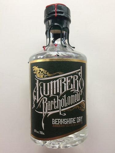 Lumbers Bartholomew 137 Berkshire Dry Gin