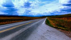Between Alberta and British Colombia