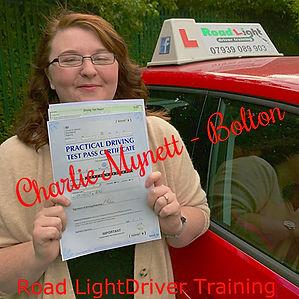 Driving Lessons Bolton Charlie Mynett Driving Test Pass.
