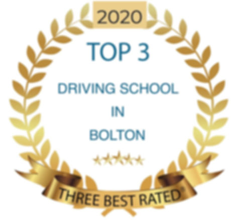 2020 Bolton Driving School Top 3