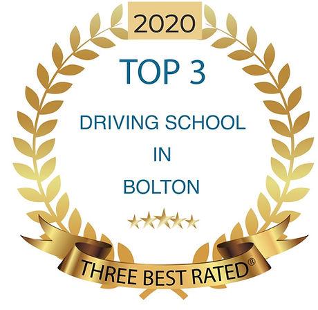 2020 Bolton Driving School Top 3