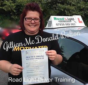 Bolton Driving Lessons Test Pass Gillian Mc Donald
