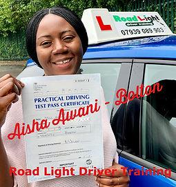 Pupil Pass Aisha Awan