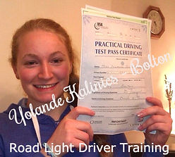 Bolton Driving Lessons Test Pass Yolande Kalinics