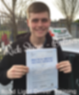 Bolton driving lessons pupil Rick Shaw passes the driving test.
