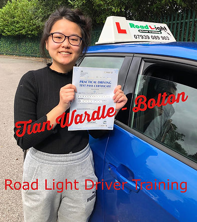 Tian Wardle Bolton Driving Lessons