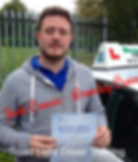 Boltn Driving Lessons Josh Cronin Test Pass