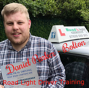 Driving Lessons Bolton Daniel Parker Driving Test Pass.