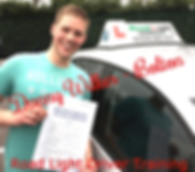 Bolton driving lessons pupil Danny Wilkes passes the driving test.