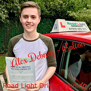 Driving Lessons Bolton Alex Debney Driving Test Pass.