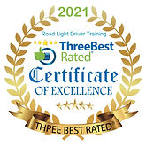 Three Best Rated Bolton Driving Lessons Certificate.