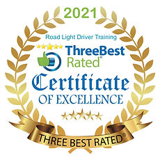 Road Light Certificate of Excellence