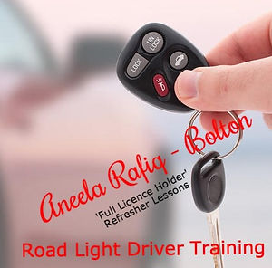 Refresher driving lessons Bolton from Road Light Driver Training 816