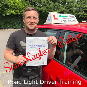 Driving Lessons Bolton Sam Naylor Driving Test Pass.