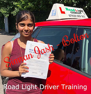 Bolton Driving Lessons Simran Jash Driving test Pass.