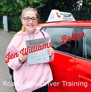 Bolton Driving Lessons Jen Williams Test Pass.jpeg
