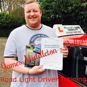 Bolton Driving Lessons James Middleton Driving Test Pass.
