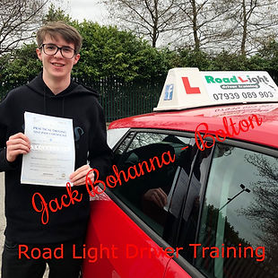 Driving Lessons Bolton Jack Bohanna Driving Test Pass.