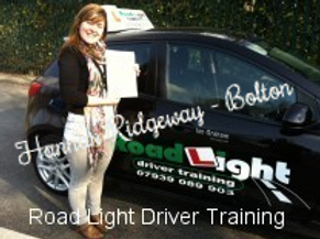Bolton Driving Lessons Test Pass Hanna Ridgeway