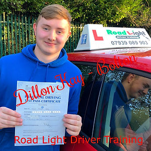 Driving Lessons Bolton Dillon Kay Driving Test Pass.
