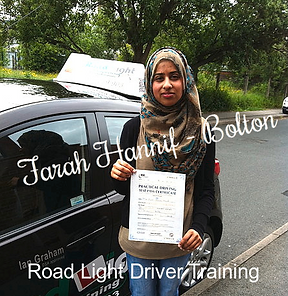 Bolton Driving Lessons Test Pass Farah Hannif