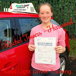 Driving Lessons Bolton Rachel Towers Driving Test Pass.