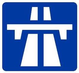 Motorway Sign