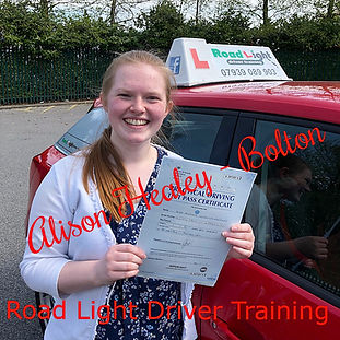 Bolton Driving Lessons Alison Healey Driving Test Pass
