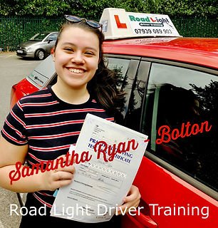 Bolton Driving Lessons Sam Ryan Test Passpeg