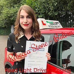 Rebecca Stone driving lessons Bolton_edi