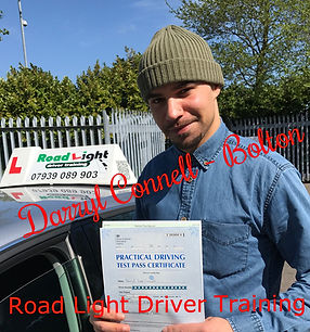 Driving Lessons Bolton Darryl Connell Driving Test Pass.