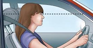 Bolton Driving Lessons Show Me Tell Me Questions Head Restraint Correct Position