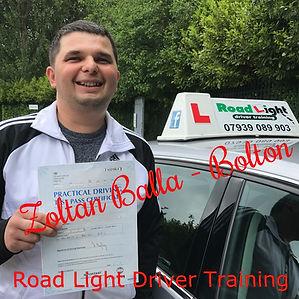 Driving Lessons Bolton Zoltan Balla Driving Test Pass.