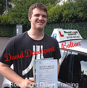Bolton Driving Lessons Test Pass David Davenport