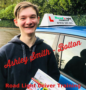 Driving Lessons in Bolton Ashley Smith Driving Test Pass