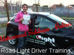 Bolton Driving Lessons Test Pass Muhammad Saddique